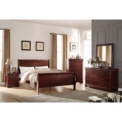 23757F LOUIS PHILIPPE FULL BED