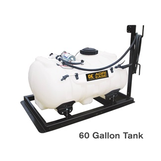 12V 60 Gallon Skid Mount Sprayer