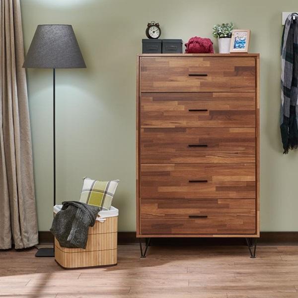 Walnut Acme Furniture 97362 Deoss Chest