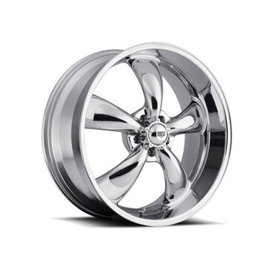 1964-73 Mustang Classic Wheel (Chrome, 17 x 8 with 4.5? Backspace)