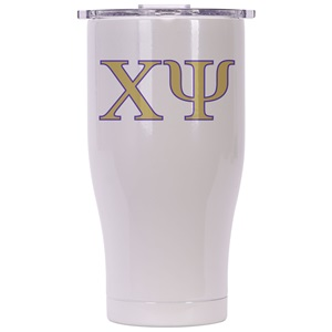 Chi Psi Pearl/Clear Chaser 27oz