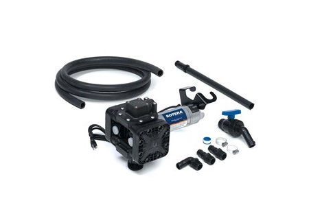 115 VAC Electric Diaphragm Pump Package | Sotera