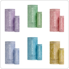 Scentered Portable Therapy Balms in Sleeve, Retail 5g