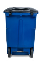96 Gallon Two Wheel Trash Can