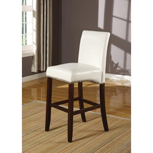 96168 WHITE PU COUNTER H. CHAIR