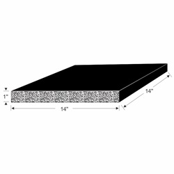 70-3909-97 EPDM Pad Drawing
