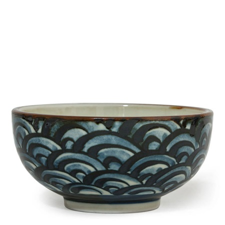 Wave Pattern Bowl