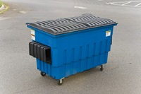 Buy Toter 2 Cubic Yard Front End Load Plastic Containers