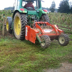 Rears Pak-Flail Cane Shredder - Example on Tractor