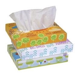"Facial Tissue, Kleenex - 8.2"" X 8.4"", 40 Per Box"