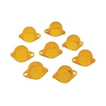 67-70 Instrument Panel Light Filters (Amber/Yellow)