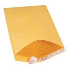 "14.25 X 20"" KRAFT BUBBLE MAILERS, SELF-SEAL, #7,"