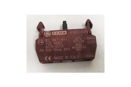 10 Amp Contact Block Normally Closed