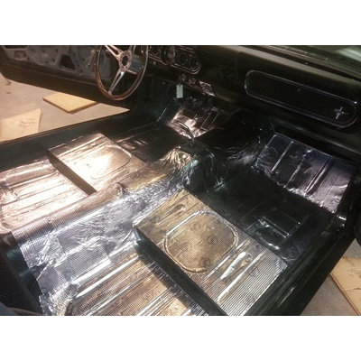 1964-73 Mustang Silver Magic Insulating Sheets