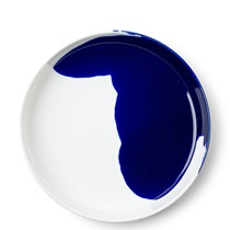 "Blue Splash 7.75"" Plate"