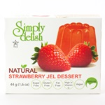 Strawberry Jel Dessert (Gelatin Free) - 1.6oz