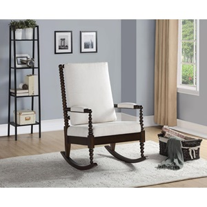 59523 WALNUT ROCKING CHAIR