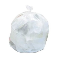 "24 X 33"" 8 MICRON 12-16 GALLON NATURAL CAN LINER, HIGH DENSITY, 1000/CA, 64 CA/PLT S243308N"