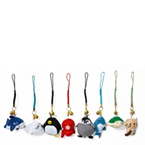 PLUSH SEA ANIMALS CHARM