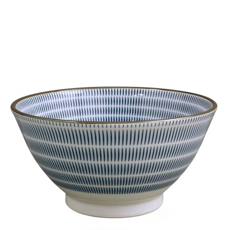 "Sen Colors 7.5"" Noodle Bowl - Navy"