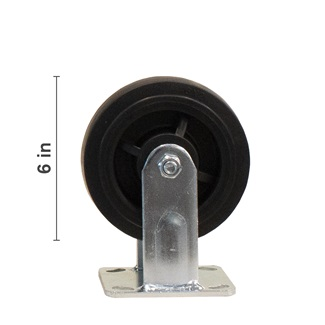 6 inch Rigid Top Plate Caster