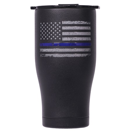 First Responder Thin Blue Line 27oz Chaser
