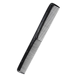 "Hair Comb 7"" Black Styling"