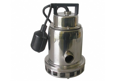 1/2 HP Stainless Steel Submersible Sump Pump With Float