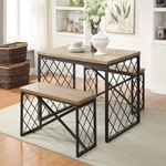 71655 3PC PACK DINING SET