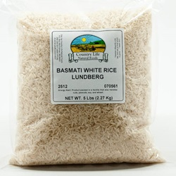 Rice, Basmati - White (5lb Bag)