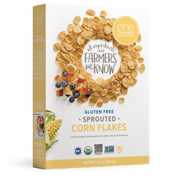 Sprouted Corn Flakes, OG - 12oz