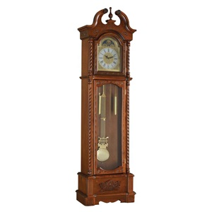 97085 DARK OAK GRANDFATHER CLOCK