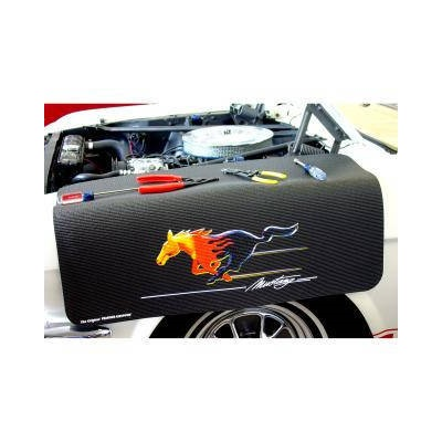 Mustang Flaming Pony Mustang Fender Cover the Best Original Fender Gripper