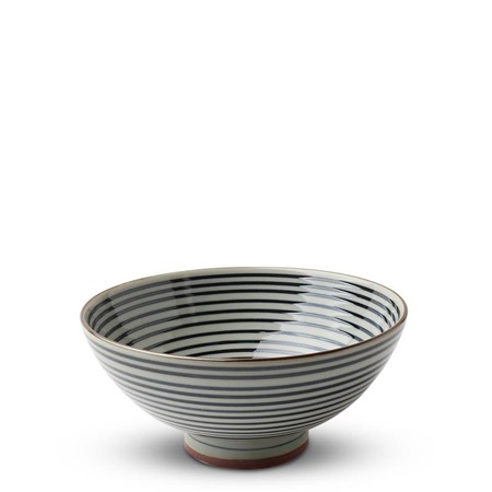 "Celadon Stripes 5.5"" Rice Bowl"