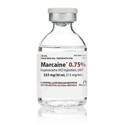 Marcaine Injectable 0.75%, 30mL