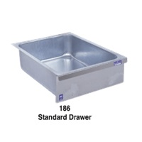 Duke Manufacturing 186LK Standard Drawer Galvanized