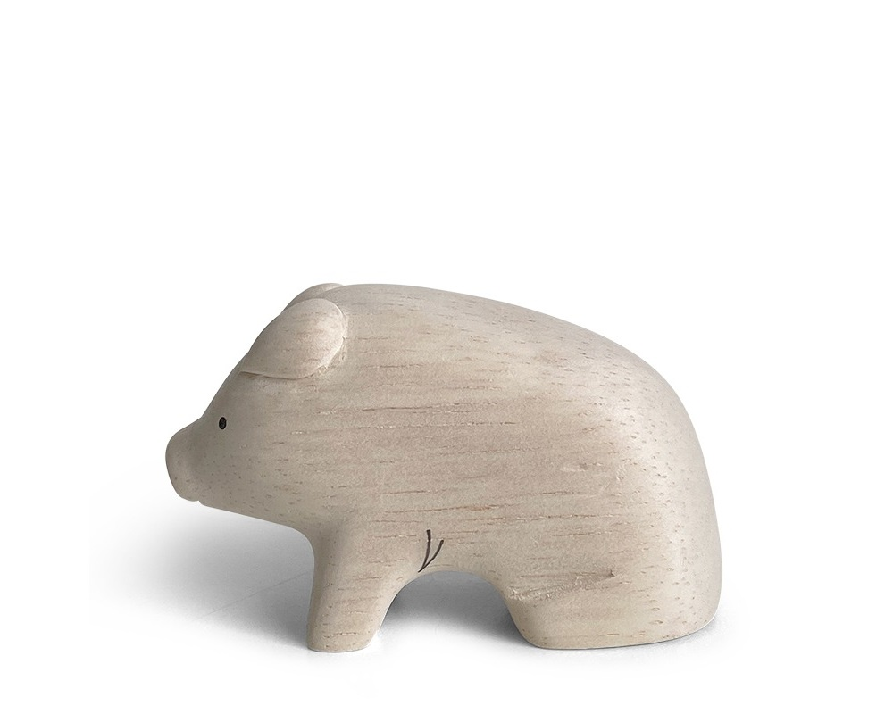 T-Lab Wooden Animal - Pig