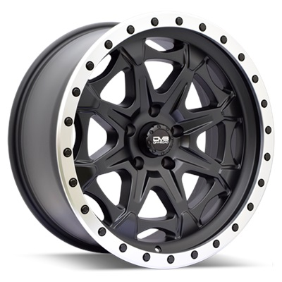 REV Off Road 886 Series Beadlock 20x9 5x5 - Matte Black