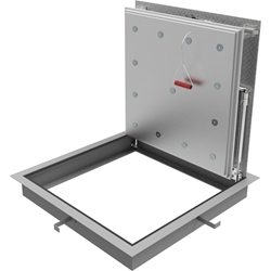 2-Hour Fire-Rated Recessed Floor Infill Floor Door