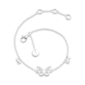 Daisy London Good Karma Bracelet, Butterfly