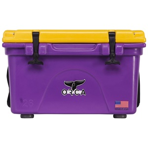 Purple/Gold 26 Quart