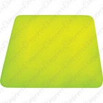 Yellow Rounded Corner Hard Card