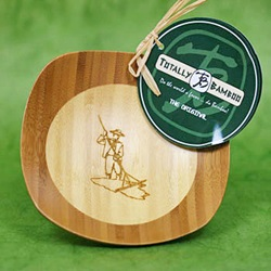 Celtic Sea Salt ® Engraved Bamboo Bowl