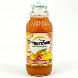 Orange/Strawberry/Banana Juice (Summer Song) - 12.5oz (Case of 12)