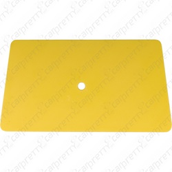 "6"" Yellow Teflon Card"