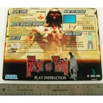 HOD 1 PLAY INSTRUCTION DECAL