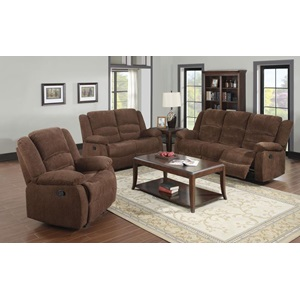 51026 CHENILLE LOVESEAT W/MOTION