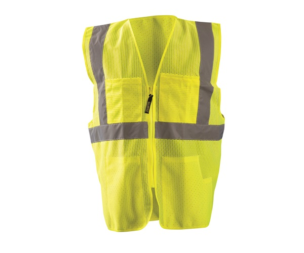 High Visibility Classic Mesh Surveyor Safety Vest