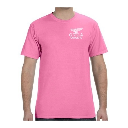 FLAMINGO SHORT SLEEVE SHIRT LARGE