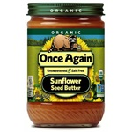 Sunflower Butter, No Salt (Organic) - 16 oz